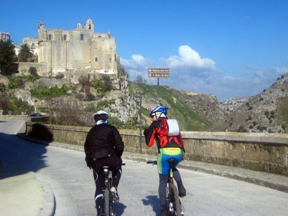 Matera in bike