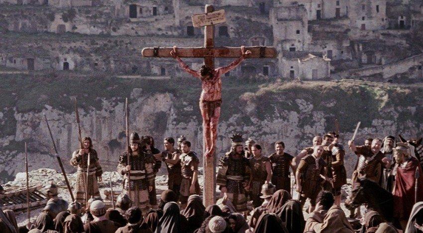 """Foto tratta dal film """"The Passion"""" di Mel Gibson girato a Matera"""