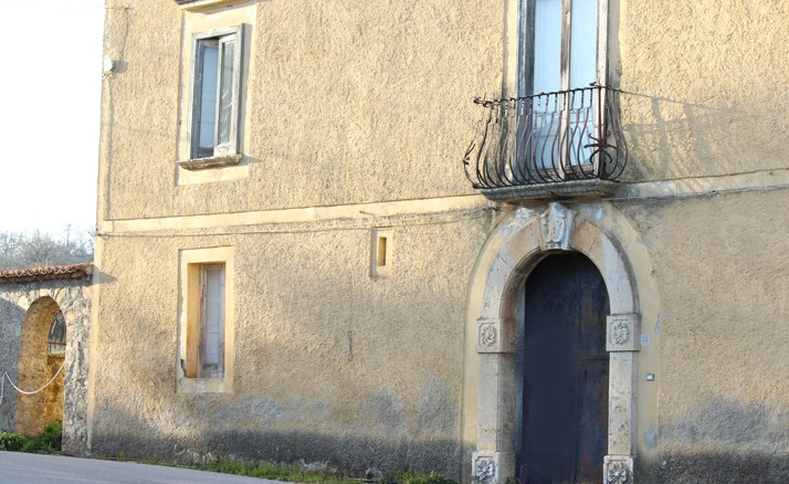 Villa Giachetti in contrada Fellana