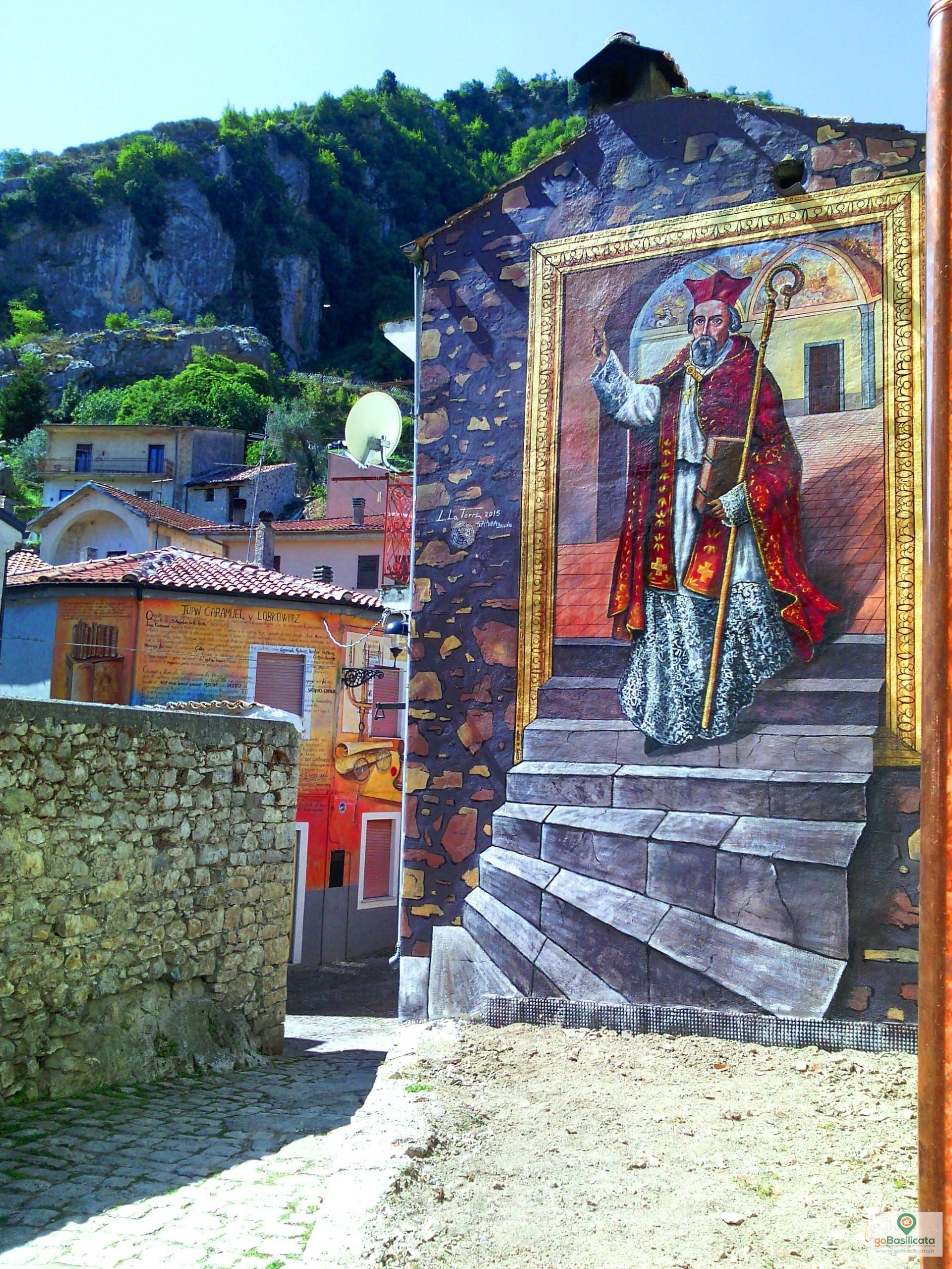 Il Vescovo Juan Caramuel - I murales di Sant'Angelo le Fratte