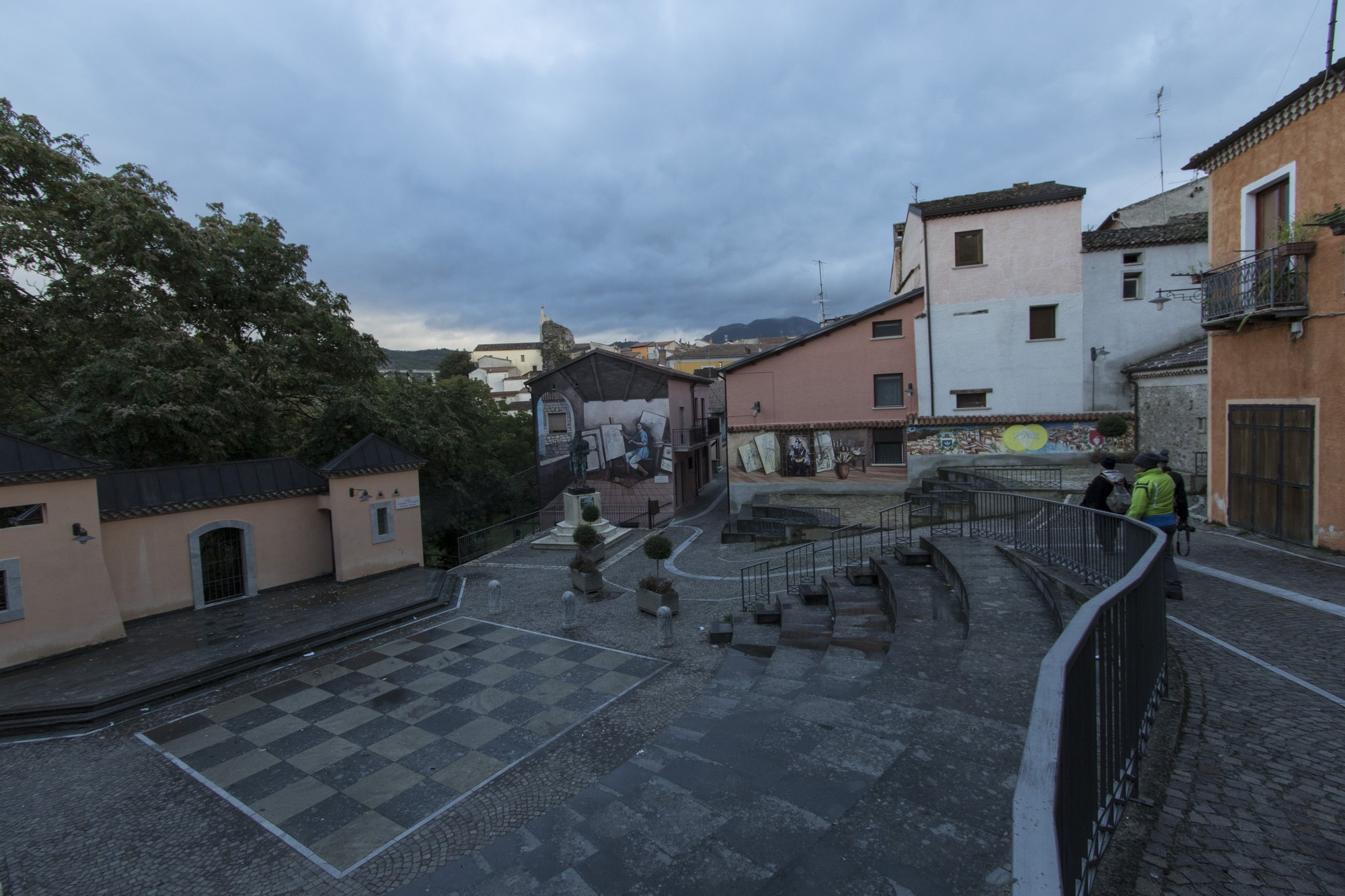 Anfiteatro Porticelle nel centro storico di Satriano di Lucania - ©Foto Massimo Vicinanza per goBasilicata