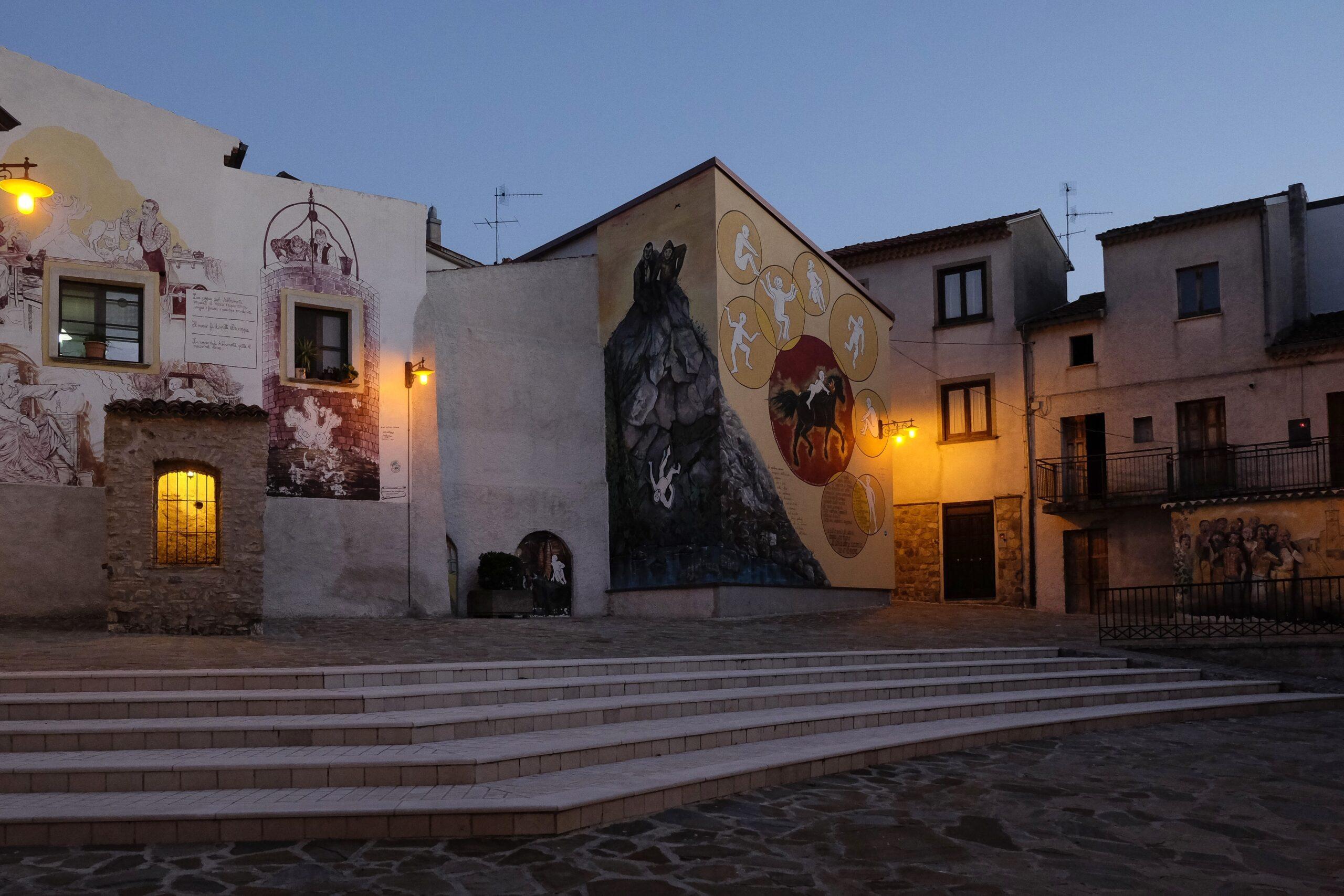 Murales di Satriano di Lucania - ©Foto Massimo Vicinanza per goBasilicata