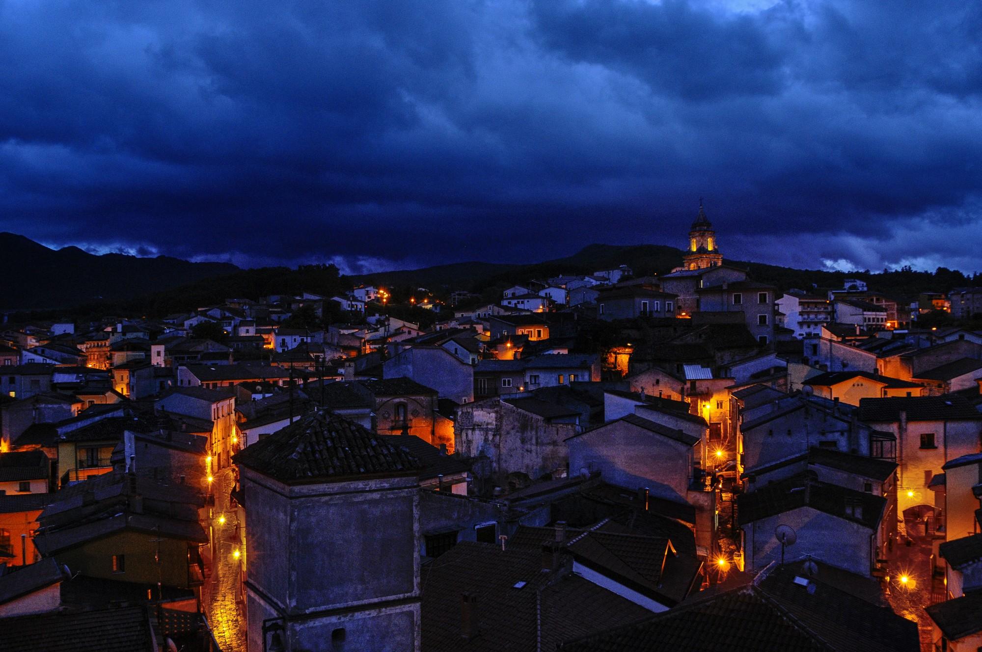 Notturno di Satriano di Lucania - ©Foto Massimo Vicinanza per goBasilicata